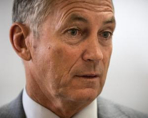 Police Commissioner Mike Bush. Photo NZ Herald