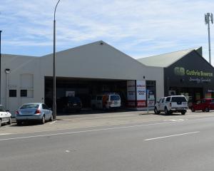 The site of the new Dunedin Donor Centre. Photo: Linda Robertson.