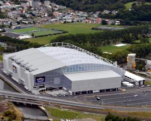 The Highlanders will take on the Lions at Forsyth Barr Stadium.