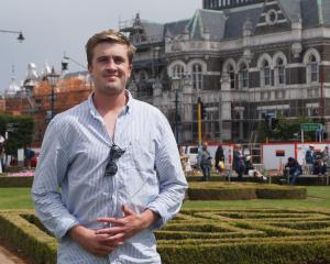 Otago University Students' Association president Hugh Baird is looking forward to representing...