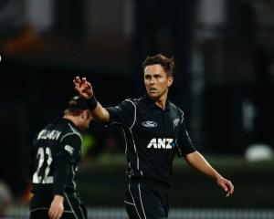 Trent Boult went for over $1 million at last night's IPL auction. Photo: Getty Images