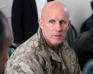 Retired Vice Admiral Robert Harward rejected the national security adviser position. Photo: NZ...