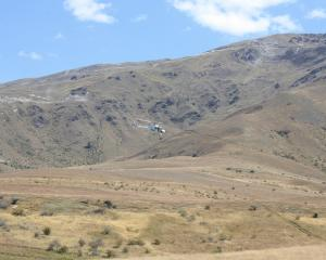 The Lakes District Rescue Helicopter transported a paraglider to  Dunedin Hospital yesterday...