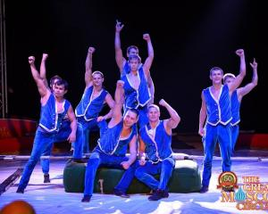 Performers from the Great Moscow Circus. Photo: Facebook