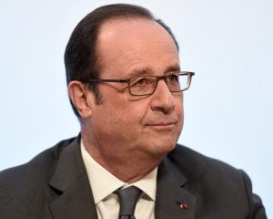 Francois Hollande. Photo Reuters