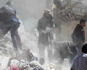 Another air strike occurred in Syria's Idlib province. Photo: Reuters