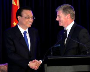 Trade deal renegotiation will progress between NZ and China. Photo: Reuters