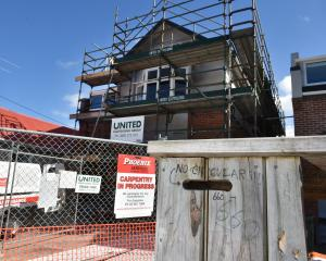 Renovation work has started on 660 Castle St after the student flat was damaged by fire last year...