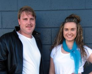 Alexandra Musical Society Grease director Matt van den Yssel and choreographer Danika Gilbert...