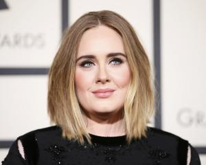 Adele. Photo: Reuters