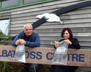 Robyn McDonald and Hoani Langsbury, of the Otago Peninsula Trust, say a long-running water...