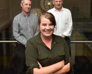 Otago Polytechnic student Ashley Hart has been working with AbacusBio consultants Simon Glennie ...
