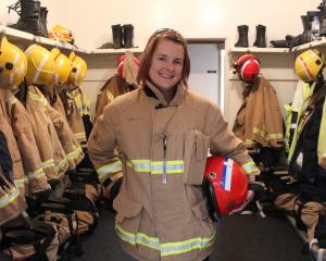 Stacey Verheul has been promoted to the rank of station officer in the Balclutha Volunteer Fire...