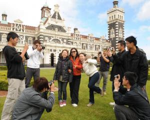 Tourism is one of the factors buoying the service sector index in Otago and Southland. PHOTO: ODT...