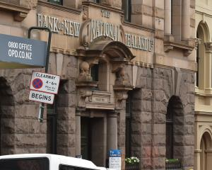Three men have been given burglary charges after they were caught in the old National Bank of New...