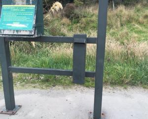 The honesty box at Purakaunui Bay in the Catlins has been broken into and an estimated at least ...
