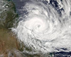 Cyclone Debbie is to make landfall several hours later than expected. Photo: Twitter