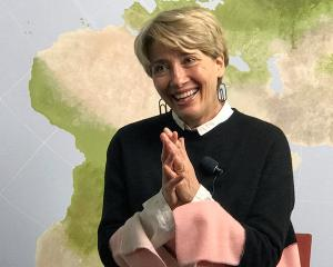 Actress Emma Thompson told a Swedish talk show that she was once asked out by now US President...