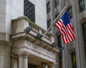 The New York Stock Exchange. Photo Getty