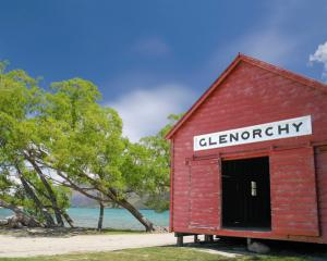 The plants were found at the entrance to Glenorchy, police said. Photo Getty