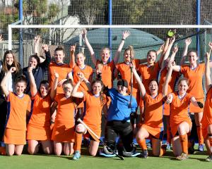 City Highlanders, winners of the Prem 1 women's competition last year. Photo ODT