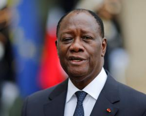 Ivory Coast President Alassane Ouattara. Photo: Reuters