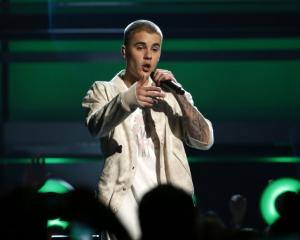 Justin Bieber performing in 2016. Photo: Reuters