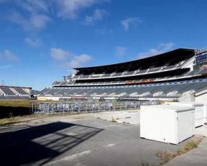 Lancaster Park will be demolished. Photo NZ Herald