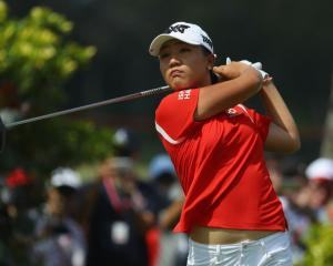 Lydia Ko in action earlier this month. Photo: Getty Images