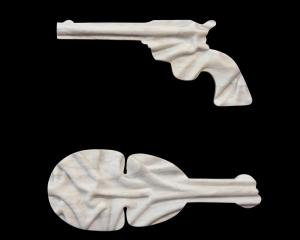 Pistol and Kotiate (2013), by Martin Selman.