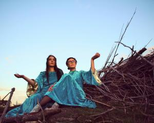 Indira Force (left) and Anita Clark are touring to promote their debut album as New Dawn. Photo:...