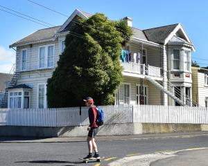 A Tenancy Tribunal ruling found that 61 Duke St, in North Dunedin, is a boarding house. Photo:...