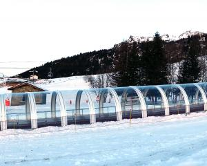 A large frame gallery at the Les Arcs ski resort in the French Alps. PHOTO: SUPPLIED