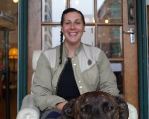 Just Atelier co-founder Fiona Clements, pictured with her dog Zela, has put out a call for...
