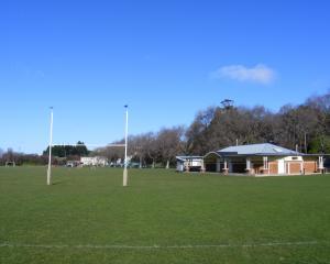 The Kensington Oval, where Uni takes on the Raiders at Kensington. Photo: James Boucher.