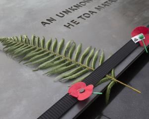 The remains of an unknown NZ soldier will be given a proper burial. Photo: file