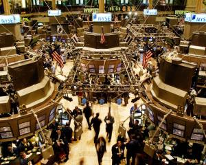 Places like Wall Street,  with the trading floor of the New York Stock Exchange in December 2002...