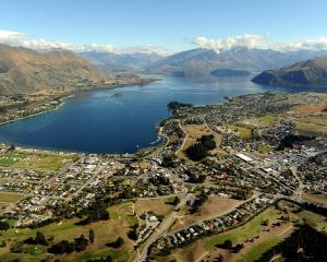 Wanaka had the highest year-on-year increase in tourism spending in the country. Photo: Stephen...