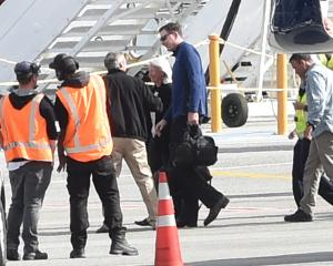 FBI director James Comey has arrived in Queenstown. Photo: Craig Baxter
