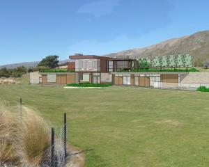An artist's drawing of the proposed Dippie house at Waterfall Creek. Image supplied.