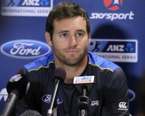 Black Caps cricketer Doug Bracewell has pleaded guilty to drink driving. Photo: NZ Herald / Duncan Brown