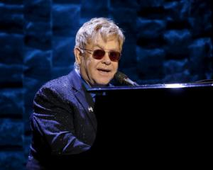 Musician Elton John is recovering from 'potentially deadly' bacterial infection after completing the South American leg of his tour. Photo: Reuters