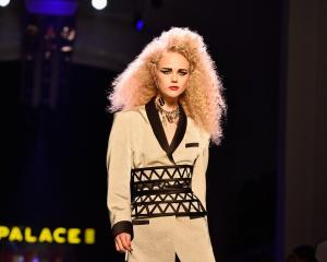 Jean Paul Gaultier's spring-summer show at Paris Fashion Week last year. Photo: Getty Images