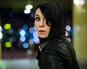 "Noomi Rapace played Lisbeth Salander in Swedish film series ""Girl With The Dragon Tattoo"" . Photo..."