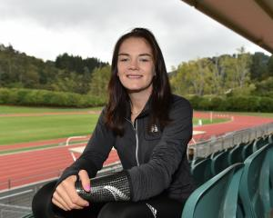 Holly Robinson at the Caledonian Ground yesterday as she looks ahead to the IPC world...