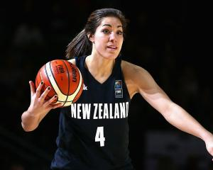 Kalani Purcell in action for the Tall Ferns. Photo: Getty Images