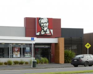 Driving profits ... KFC sales rose nearly 5% in annual profits for owner Restaurant Brands. PHOTO...