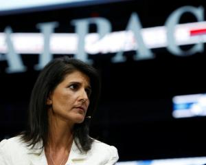 Secretary of State Rex Tillerson and US ambassador to the United Nations Nikki Haley (above) drew...