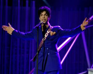 Two albums of new Prince music are set to be released in June. Photo: Reuters