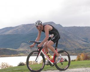 Invercargill triathlete Matt King in 2011.